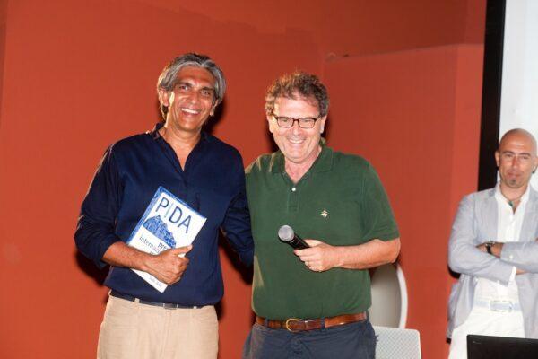 Bijoy Jain con Luigi Prestinenza Puglisi