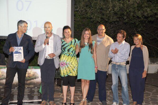 Hani Rashid con gli architetti dell'associazione PIDA